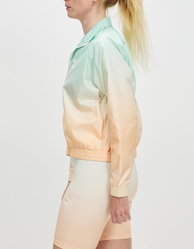 Women Allover Print Full Zip Jacket