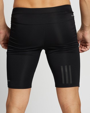 adidas Performance Own The Run Short Tights - all compression (Black)