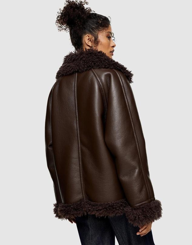 Women Shearling PU Jacket