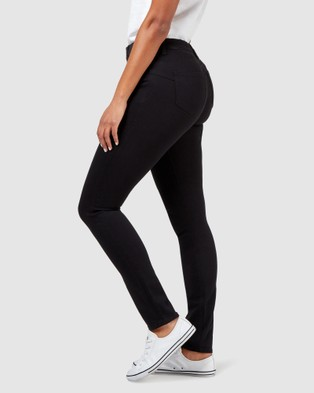 Jeanswest Butt Lifter Skinny Jeans Black Night - Jeans (Black Night)
