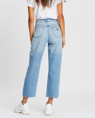 Abrand A Venice Straight Jeans - High-Waisted (Amelia)