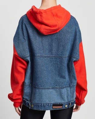 P.E Nation 1977 Hoodie - Hoodies (Red Bright)