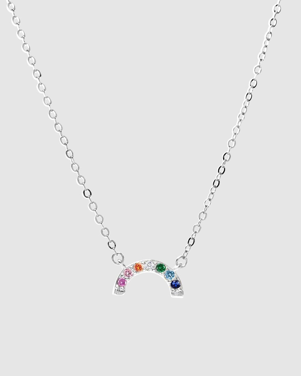 Dear Addison Kids My Little Rainbow Necklace Jewellery Rainbow
