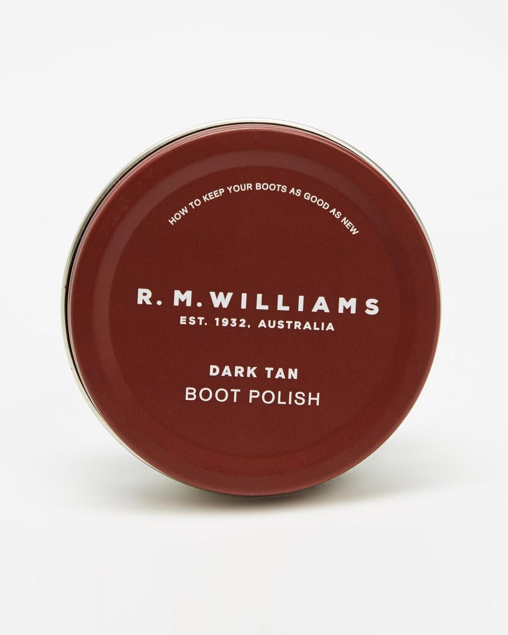 R.M.Williams Stockman's Boot Polish Accessories Dark Tan