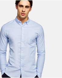 Topman - Muscle Fit Oxford Shirt