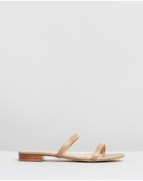 Atmos&Here - ICONIC EXCLUSIVE - Fliss Double Strap Sandals