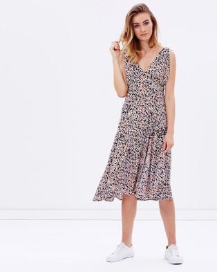 MINKPINK – Animalia Tie Shoulder Dress – Dresses (Multi)