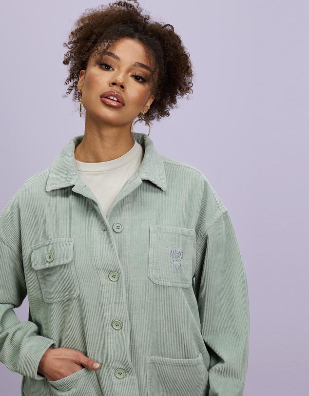 Women Slacker Cord Jacket