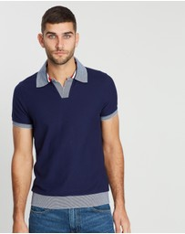 Tommy Hilfiger - Textured Slim Polo