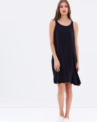 Buy Primness - Pleated Tunic - Tops Noir -  shop Primness dresses online