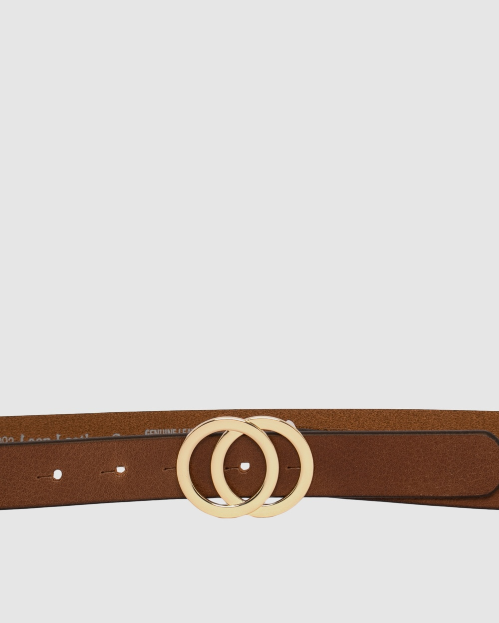 Loop Leather Co Brittany Belts Brandy Tan