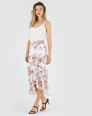 Amelius Blushing Orchid Skirt - Skirts (White)