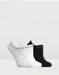 Tommy Hilfiger - 3-Pack Flag Sole Socks