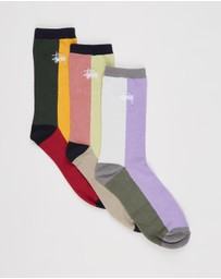 Stussy - Graffiti Splice Sock 3-Pack
