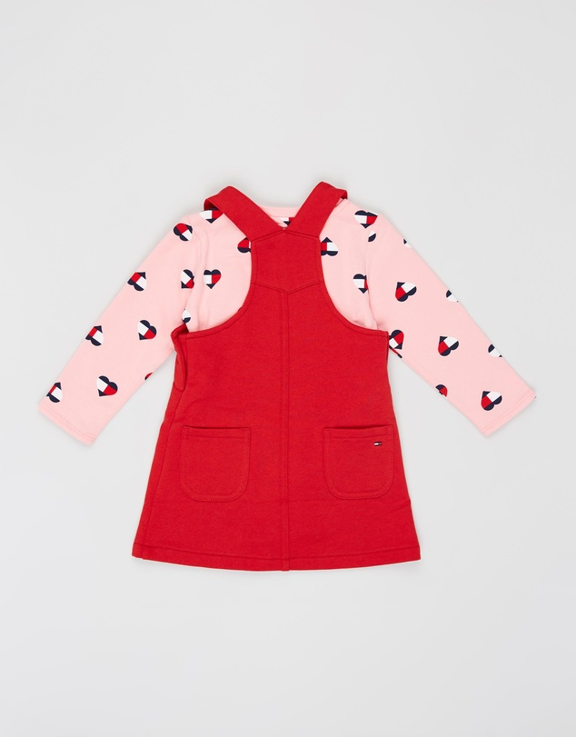 Tommy Hilfiger - Dungaree Dress Set - Babies
