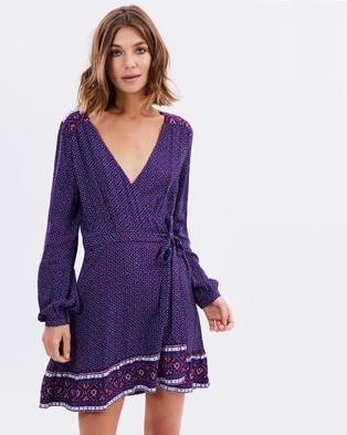 Tigerlily – Baikal Dress – Dresses (Aubergine)