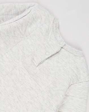 Cotton On Baby Greer Emerson Quilted Tracksuit Babies Sweats Cloud Marle