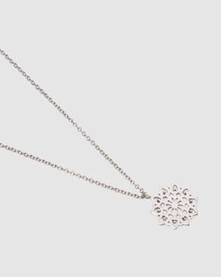 Pastiche Evening Song Necklace - Jewellery (Silver)