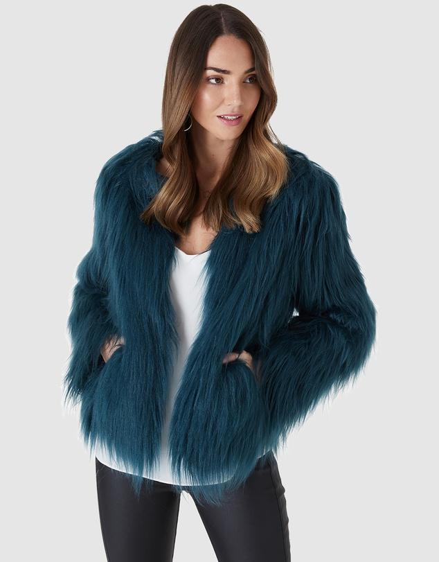 Women Marmont Faux Fur Jacket
