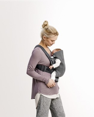 BabyBjorn Baby Carrier Mini - All Baby Carriers (Dark Grey)