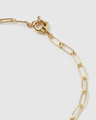 Arms Of Eve Boca Gold Stacking Chain Necklace Jewellery Gold