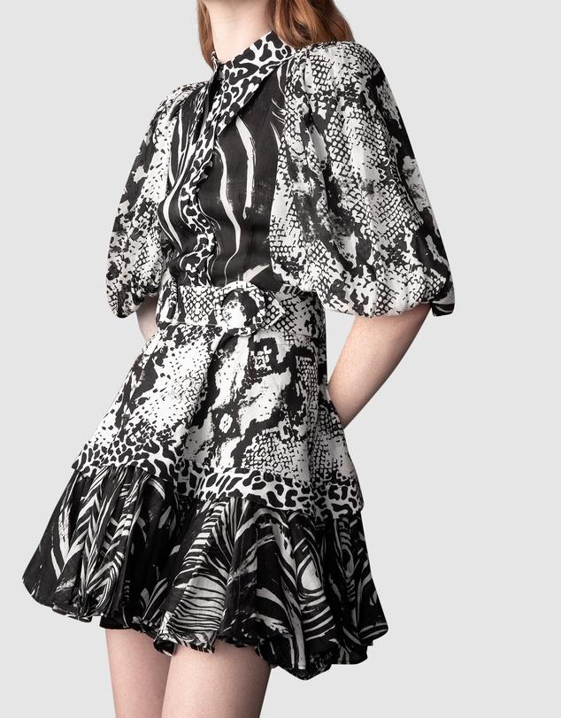 Women Animalia Night Mini Dress