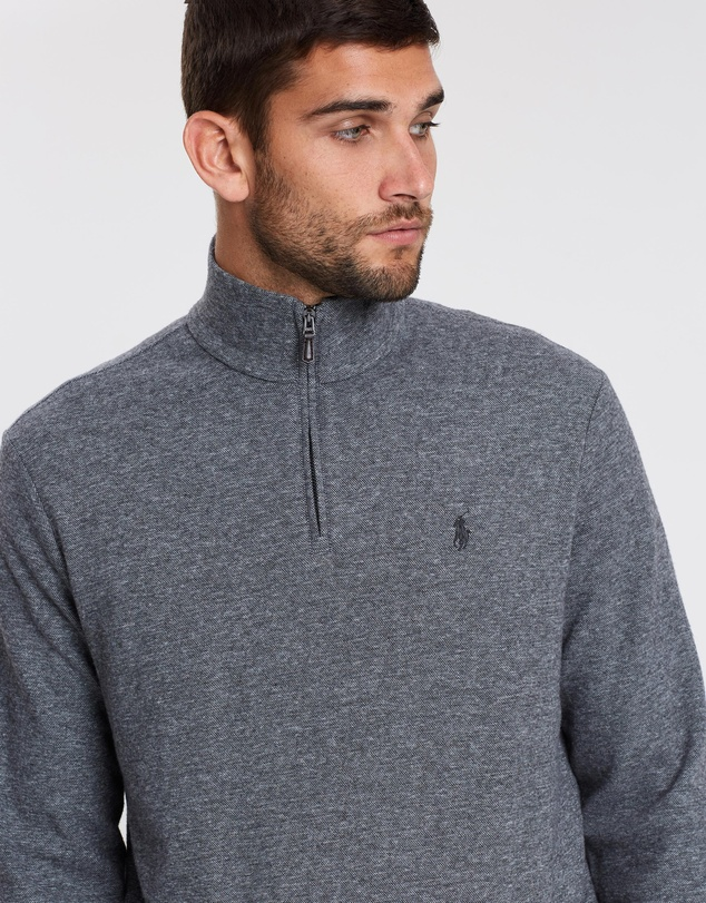 Polo Ralph Lauren - Long Sleeve Cashmere-Touch Sweat