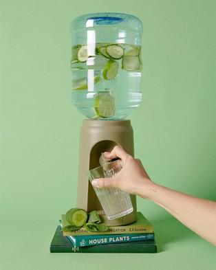 Typo Desktop Water Cooler - Home (Khaki)