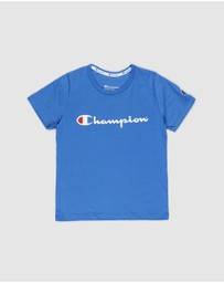 Champion - Script Short Sleeve Tee - Kids-Teens