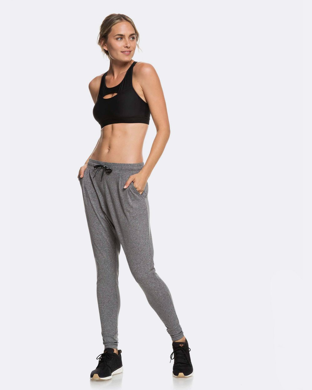 9386a204ffdbd Womens Jungle Roots Drop Crotch Yoga Pants by Roxy Online | THE ICONIC |  Australia
