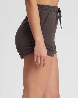 Tussah Chiara Shorts - Shorts (Charcoal)