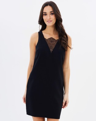 Cooper St – Papara Shift Dress Black