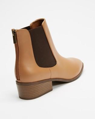 IRIS Footwear - Rory Heels (Tan)