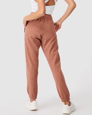 Cotton On Body Active Lifestyle Gym Track Pants - Sweatpants (Cashew Marle)
