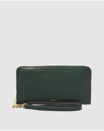 Fossil - Logan Green Clutch