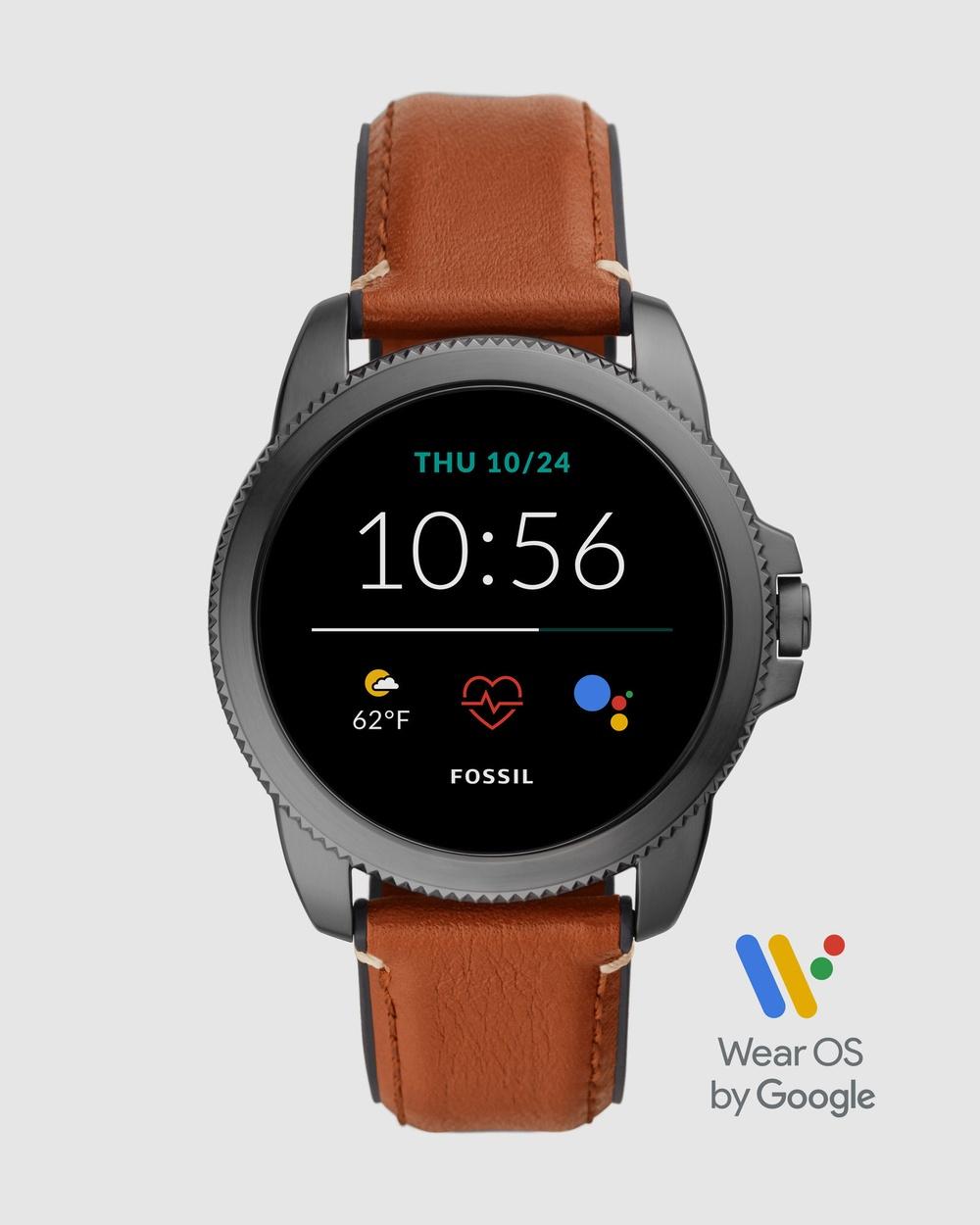 Fossil Gen 5E Brown Smartwatch Smart Watches Brown