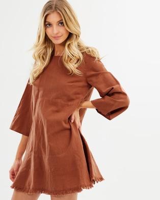IMONNI – Alita Dress Rust