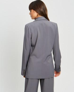 Calli Erina Blazer - Suits & Blazers (Dark Grey)