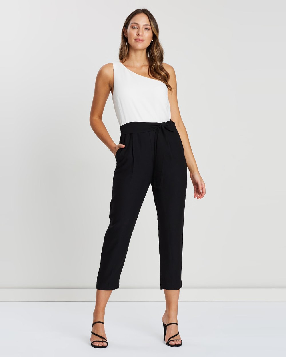 5cb71f390a0 One Shoulder Jumpsuit by Banana Republic Online