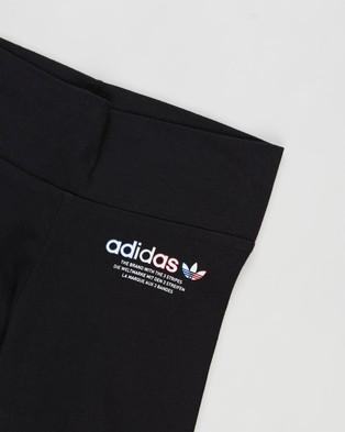 adidas Originals Logo Leggings   Kids   Teens - Pants (Black)