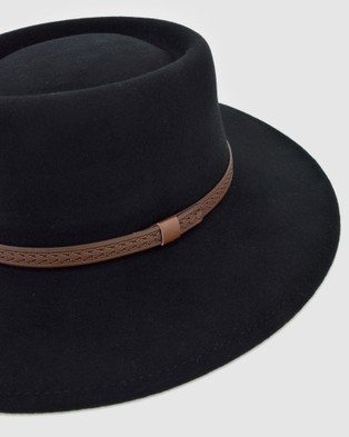 Ford Millinery Madrid Hat - Hats (BLACK)