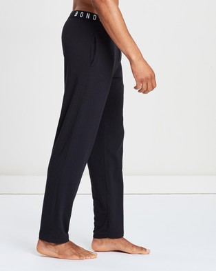 Bonds - Comfy Livin' Jersey Pants Men's Accessories (Black)