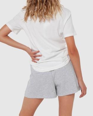 Madison The Label Elliot Shorts - High-Waisted (Grey)