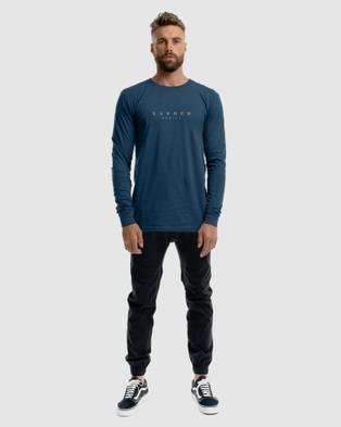 Xander Grand Prix Long Sleeve Tee - T-Shirts & Singlets (BLUE)