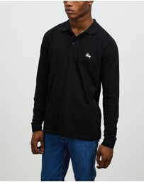 Stussy - Authentic Long Sleeve Polo