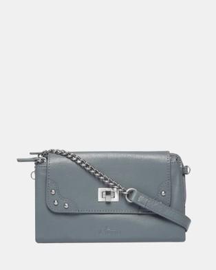 Il Tutto Lexi Mini Bag Wallet - Clutches (Grey)