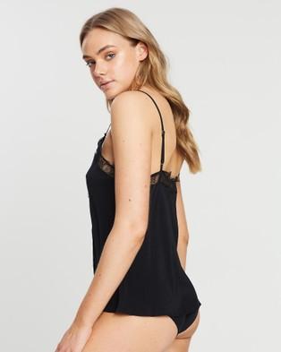 Sainted Sisters Harper Camisole - Sleepwear & Loungewear (Black)