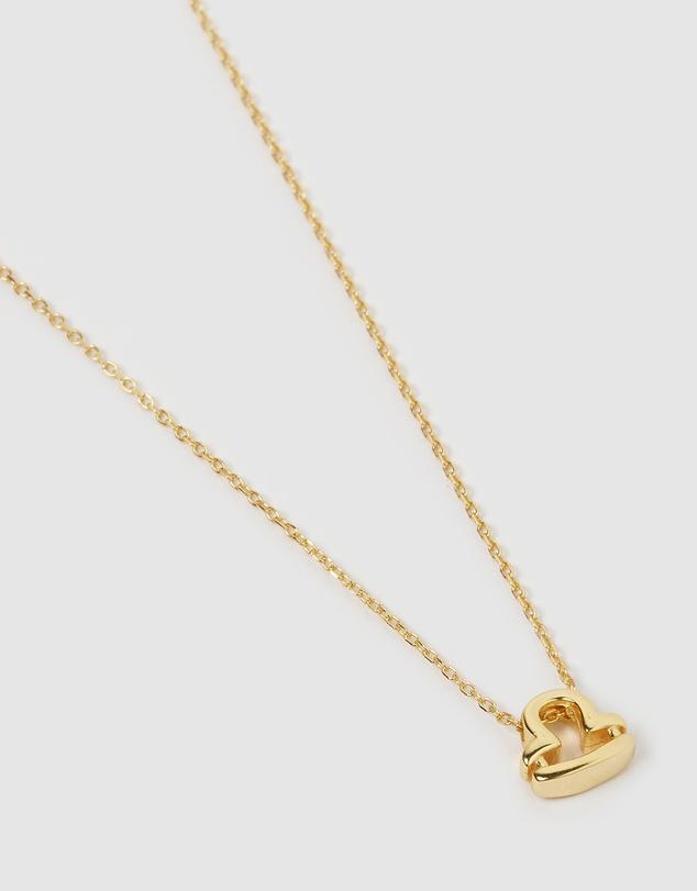Women Libra Star Sign Symbol Necklace