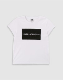 Karl Lagerfeld - Short Sleeve T-Shirt - Teens