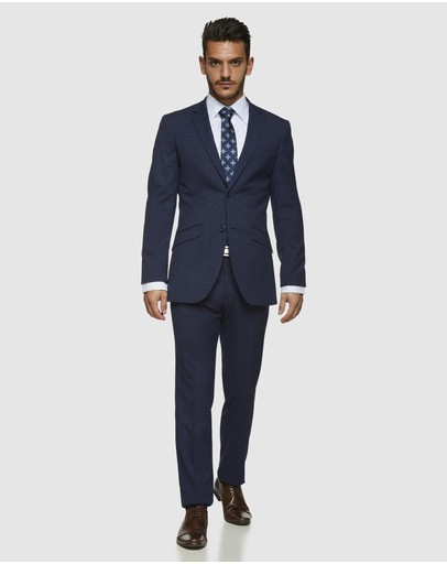 Kelly Country - Livorno Carremen Slim Fit Check Suit Set